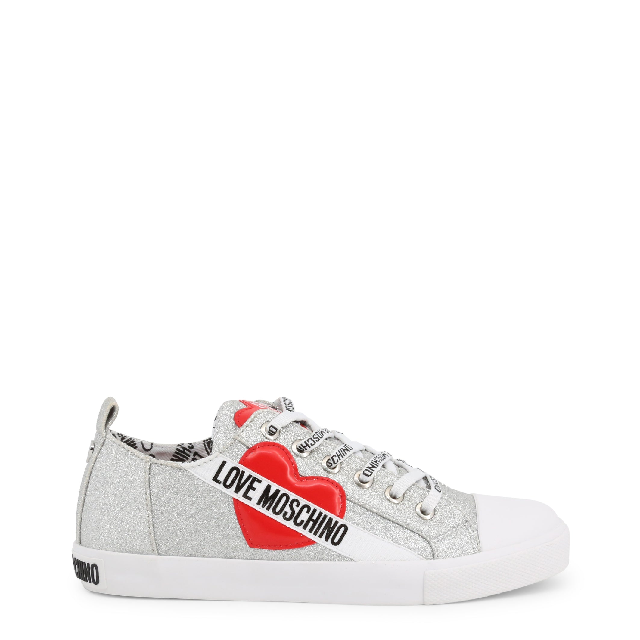Love Moschino - heart lace up shoe