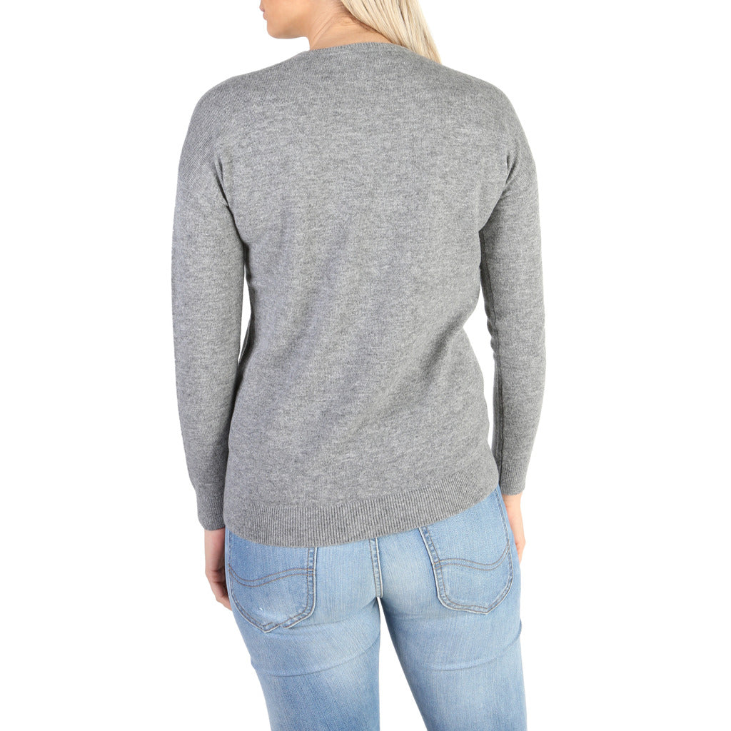 Tommy Hilfiger Cashmere Sweater - Women's V-Neck Sweater