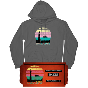 On the Pacific Hoodie + Ticket Bundle