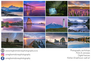 For the love of New Zealand 2021 Landscape Calendar