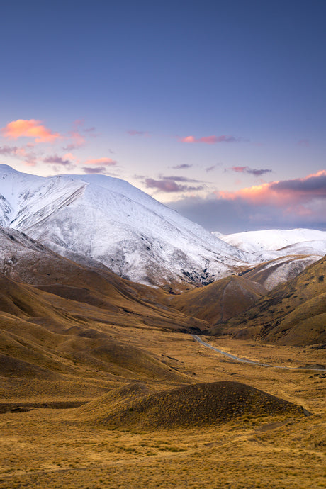 Lindis Pass Blue Hour