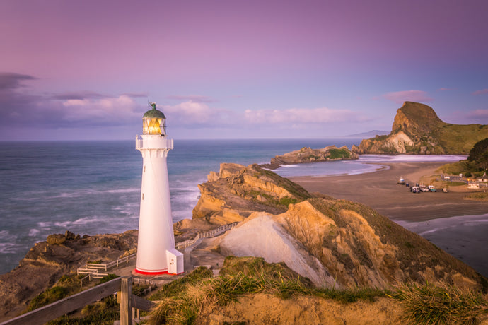 Castlepoint Lighthouse Dawn Light