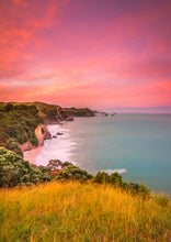 Load image into Gallery viewer, Coromandel Coast Pastel Sunset