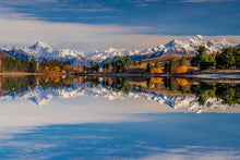 Load image into Gallery viewer, Reflections at Lake Camp, Ashburton Lakes