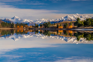 Reflections at Lake Camp, Ashburton Lakes