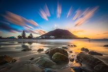 Load image into Gallery viewer, Mount Maunganui Sunset Exclamation