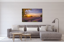 Load image into Gallery viewer, Lavender Farm Golden Sunset