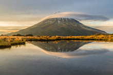 Load image into Gallery viewer, Mount Taranaki Tarn Reflection