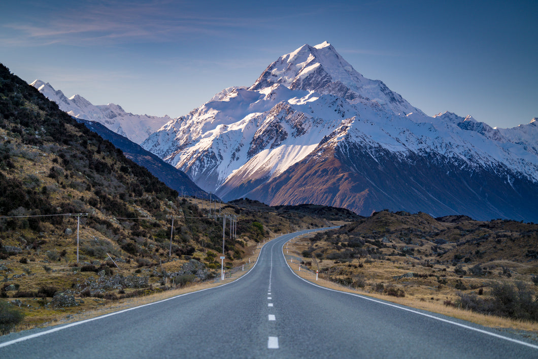 Mt Cook Road Golden Hour