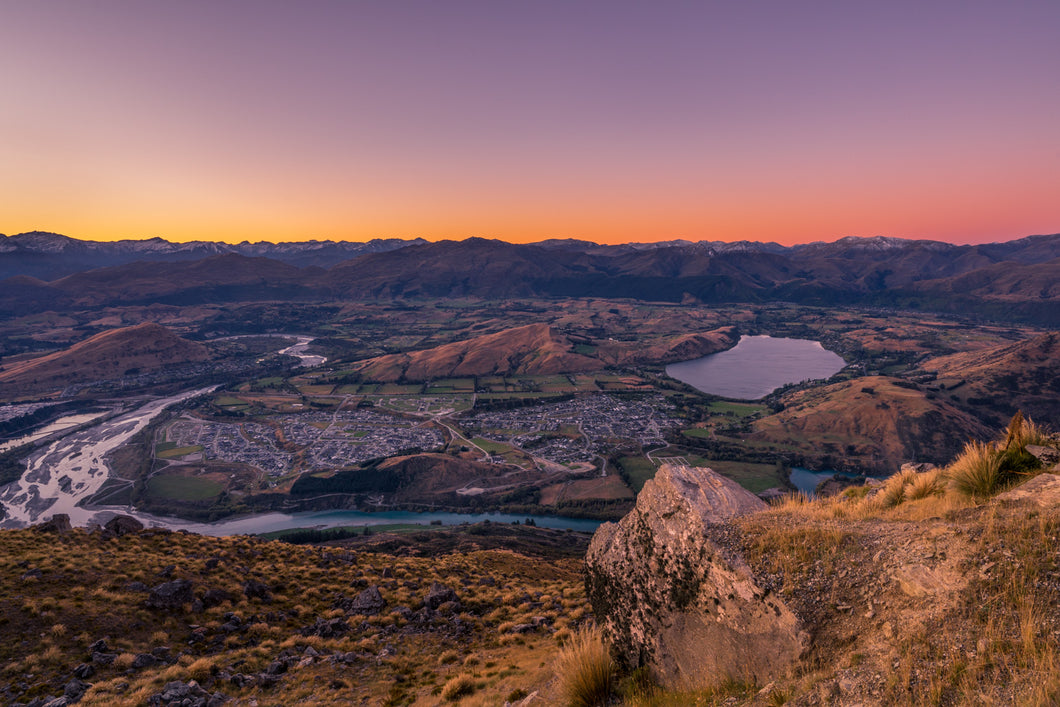 Remarkables Dusk Views