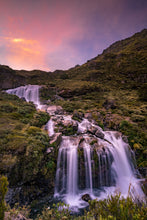 Load image into Gallery viewer, Routeburn Falls Pink Sunset