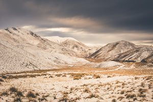 Lindis Pass Snow Light