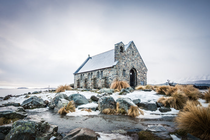 Tekapo Church in Snow