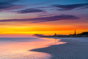 Waihi Beach Colourful Dawn