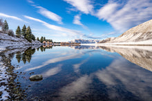 Load image into Gallery viewer, Ashburton Lakes Snow Reflections