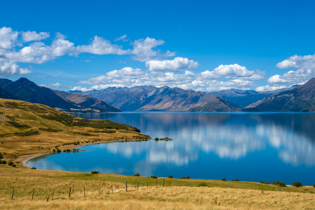 Lake Hawea Summer Blues