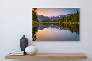 Lake Matheson Dawn Glow