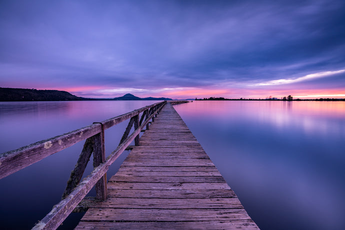 Lake Taupo Jetty Dawn