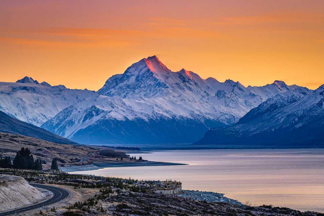 Mount Cook Lookout Sunrise