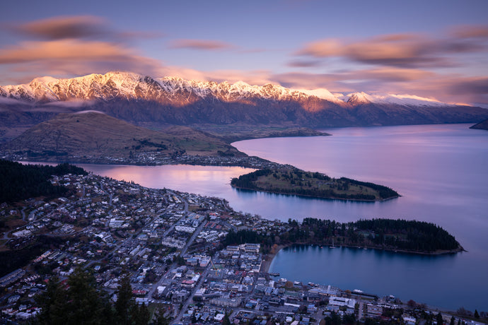 Queenstown Skyline Gondola Sunset