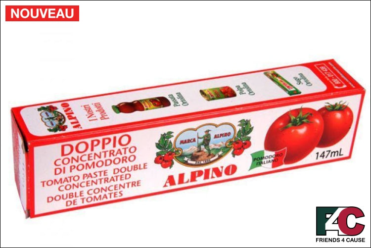 Alpino Concentrated Tomato Paste Italian Import Food