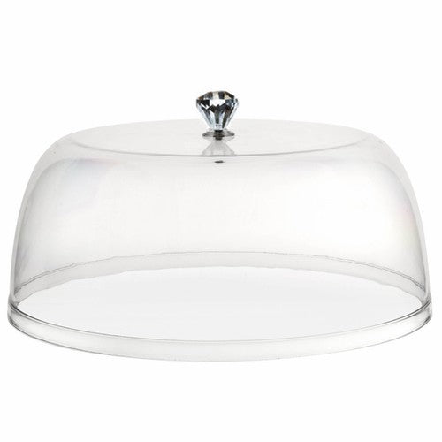 Acrylic Diamond Accent Cake Dome Cover