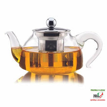 Load image into Gallery viewer, Glass Teapot With Stainless Steel Infuser Kitchen Gadgets