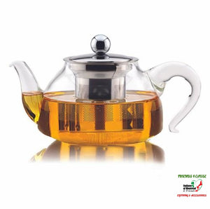Glass Teapot With Stainless Steel Infuser Kitchen Gadgets