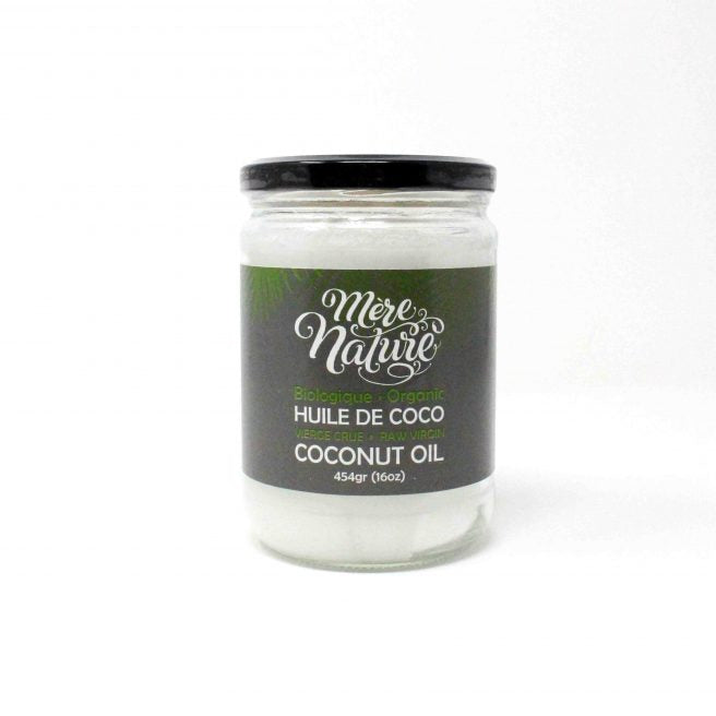 MOTHER NATURE ORGANIC COCONUT OIL