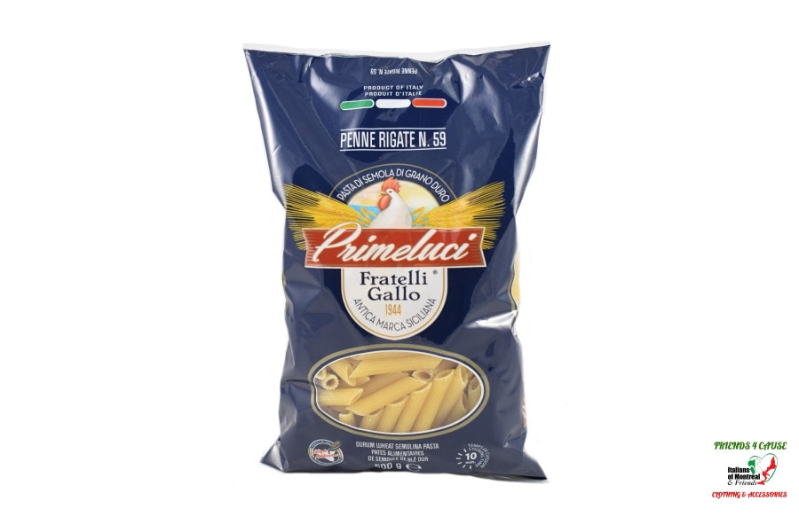 Penne Rigate Italian Import Food