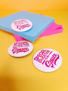 Special Ed. Buttons (Pink)