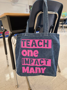 Teach ONE Tote Bags