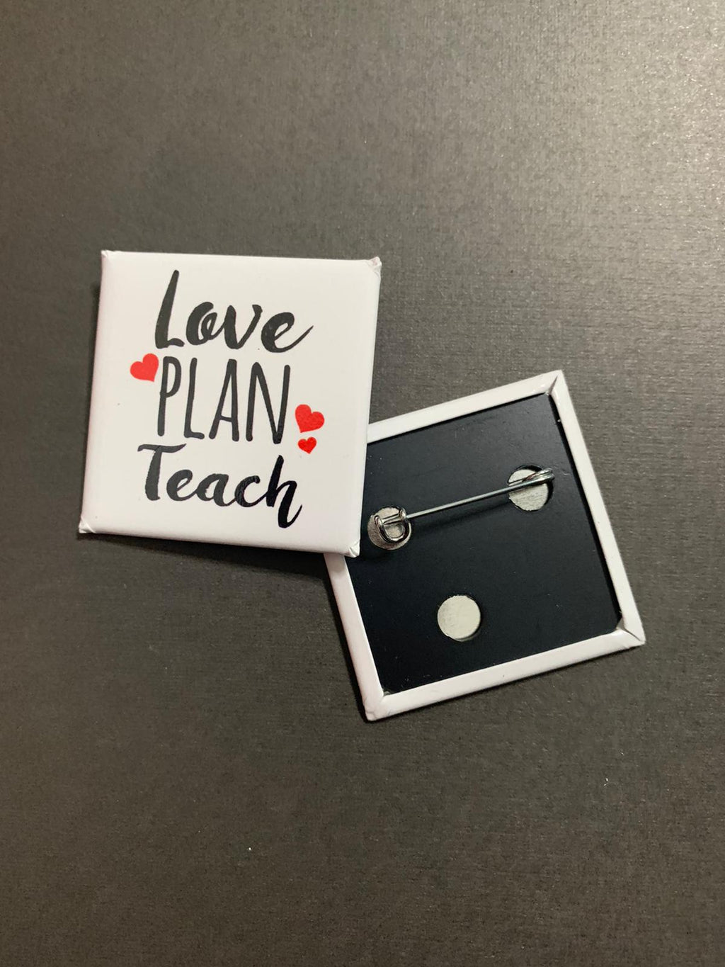 Love/Plan/Teach Button