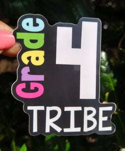 4th Grade Tribe Sticker
