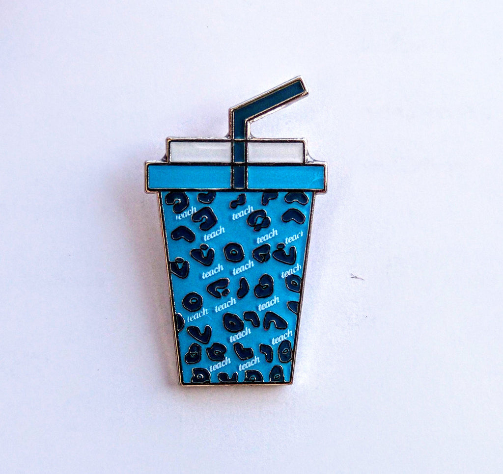 Teach Enamel Pin
