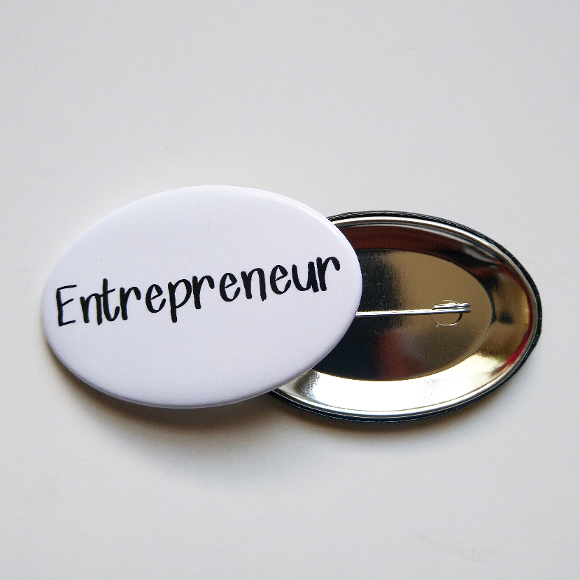 Entrepreneur Button