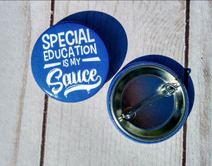 Special Education Sauce Buttons