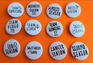 Astrological Buttons