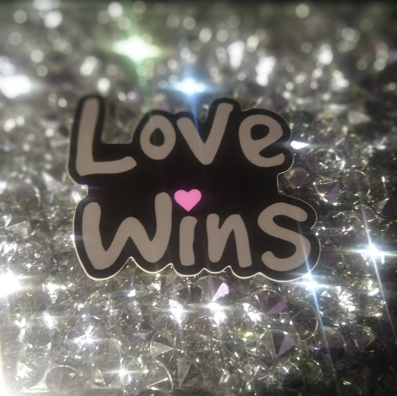 Love Wins Sticker