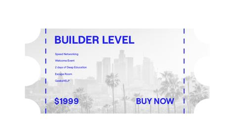 BUILDER LEVEL - 50% off