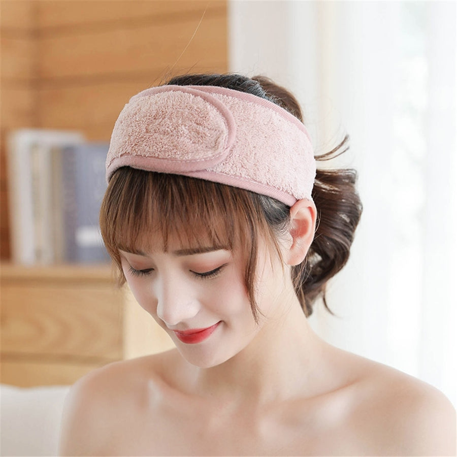 Easy Adjustable Hairband Headband for Face Wash, Make Up Removal, SPA Facial Treatment