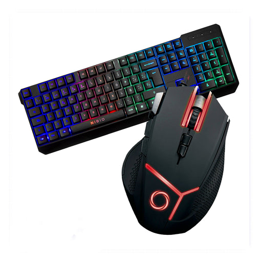 Combo Mouse Gear + Teclado Strike