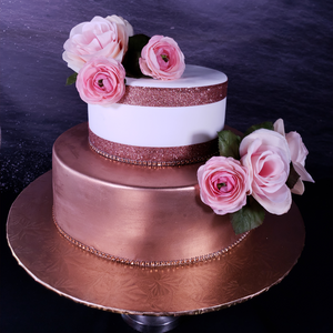 Royal Rose Gold Cake