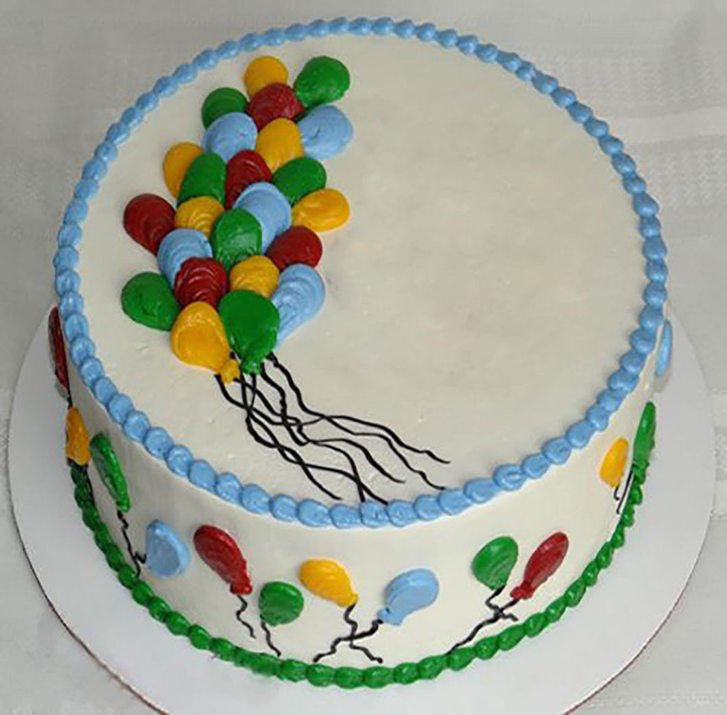 Balloon Super Cake 1