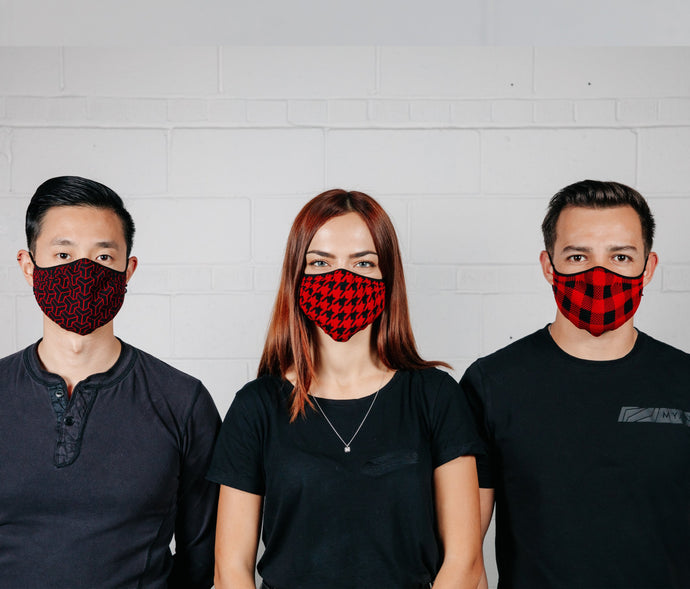 Evoke Mask - Limited Edition Harvest Red - Pack of 3 - Myant PPE Solutions