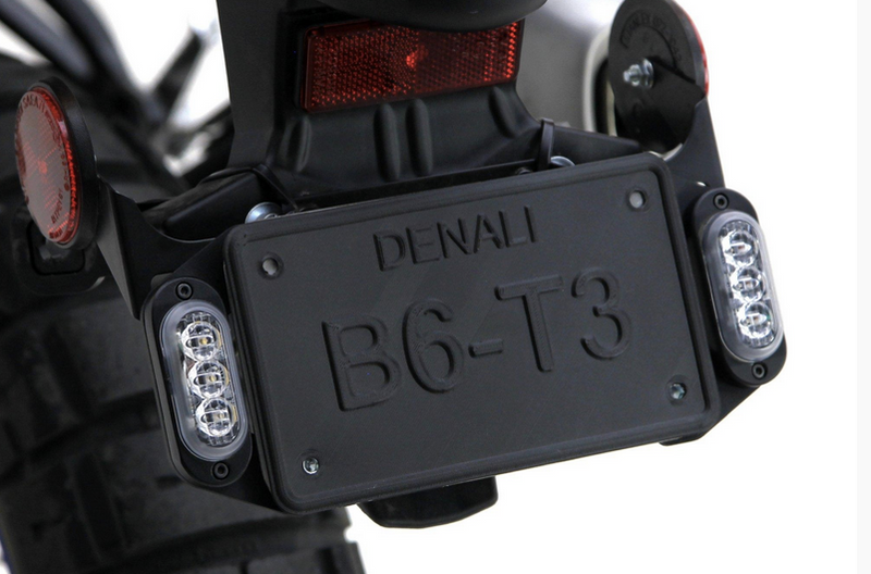 DENALI License Plate Mount For T3 Signal Pods