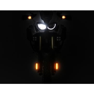 DENALI DRL Daytime Running Lights with Universal Fender Mounting Kit | Amber or White