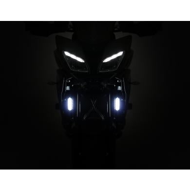 DENALI DRL Daytime Running Lights with Universal Offset Mounting Kit | Amber or White