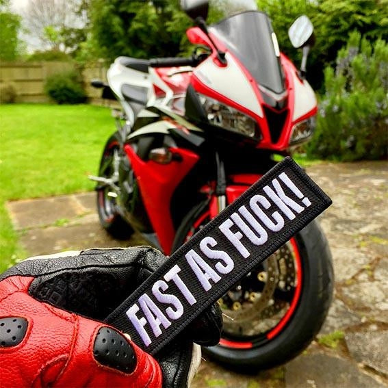 FAST AS FUCK! - Motorcycle Keychain