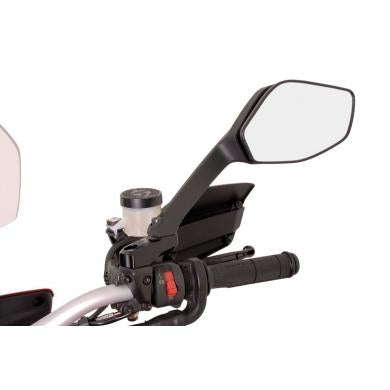 SW-MOTECH Left & Right Side mirror wideners for right/left-threaded mirrors Ducati Multistrada/S 1200 '10-'14